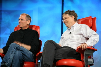Gates_jobs_interview_on_stage_12