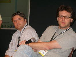 Jeff_clavier_and_brad_feld_at_gnomedex